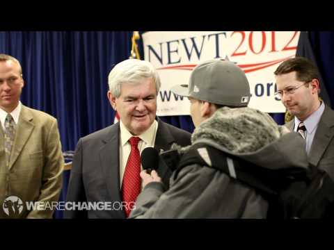 """Newt Gingrich Denies Bohemian Grove Existence: Some People Have """"Fantasy Lives"""""""