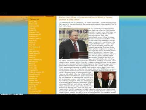 Zionist John Hagee's War on Jesus and True Christians