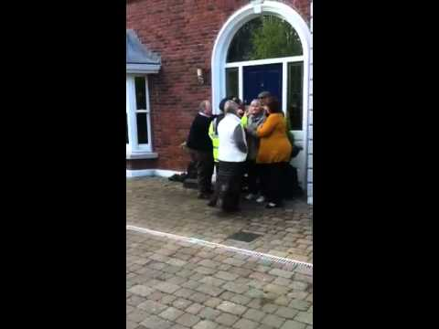Dublin Home Eviction -Elderly Couple Attacked- April 18th 2012 by Anglo Irish Bank