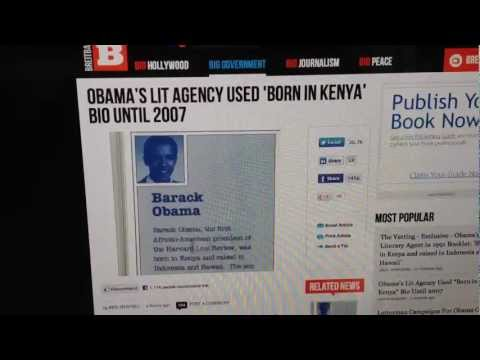 Obama Said He Was Born in Kenya Up Until 2007!