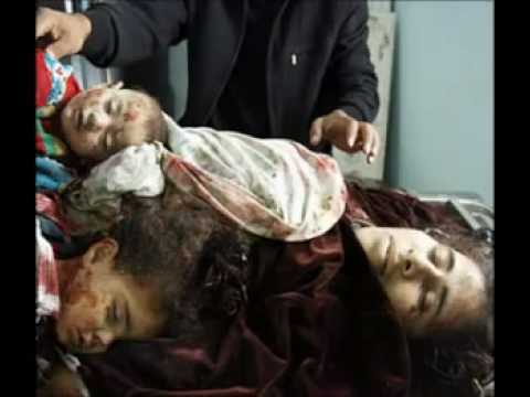 Israeli army killing children in Palestine