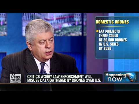 Judge Napolitano Weighs In On Domestic Drone Use