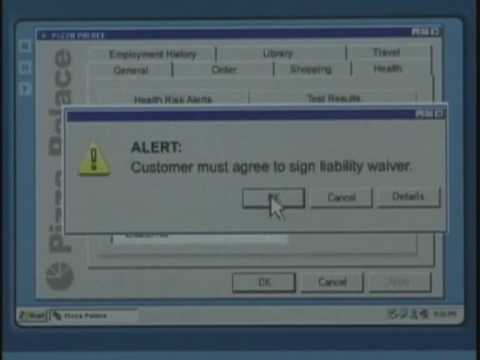 Future of Ordering a Pizza Implanted With A RFID Chip