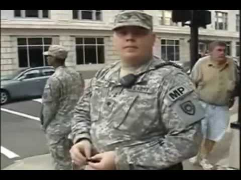 PreConditioning seeing Military on US streets! Long Version!