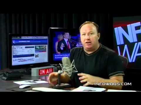 Alex Jones- The FBI Invaded Infowars in April 2012