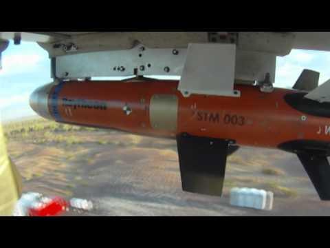 Raytheon STM small UAV weapon flight tests