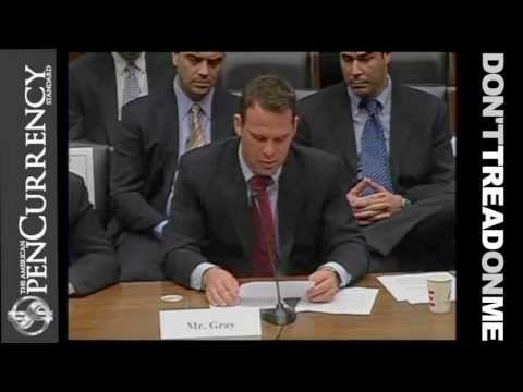 Epic Congressional Testimony: Open Currency Advocate Tells Congress They are Thieves for Enabling the Fed | -Greatest Truth Told To Congress