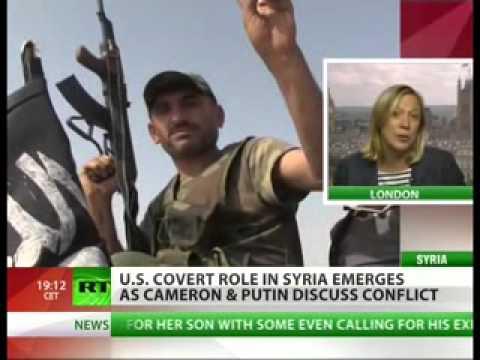 President Obama Signs C.I.A-Syria Intervention