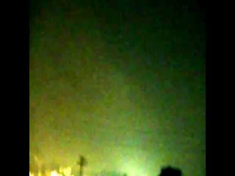 Electrical Storm Flashes and Strange Sounds
