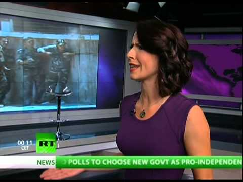 'Breaking the Set' - A brand new show on the RT Network hosted by Abby Martin