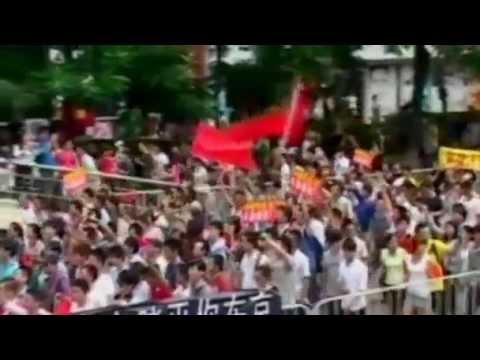 Anti-Japan Protests Call For WAR - China South Sea Dispute