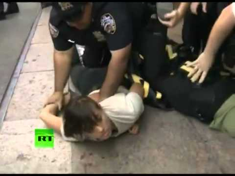 POLICE BRUTALITY: Violent Arrests & Police Attacks on Photographers at Occupy Anniversary