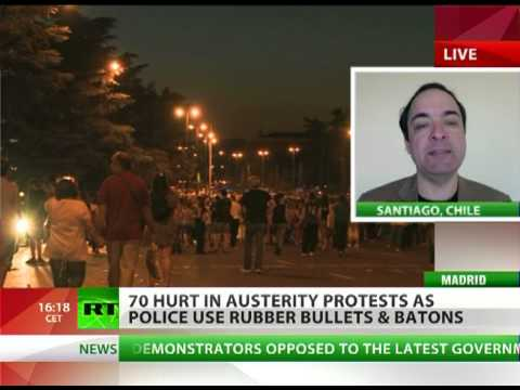 'Extremism to grow in Spain, Italy, France as banksters & police confront protests'