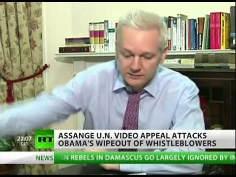 U.S. Declares Assange An Enemy of The State