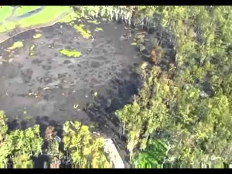 Bayou Corne Sinkhole  Up Close -Second Video