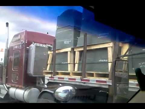 Freemason Semi-Truck Hauling FEMA Coffins??? - Wisconsin Sept. 2012