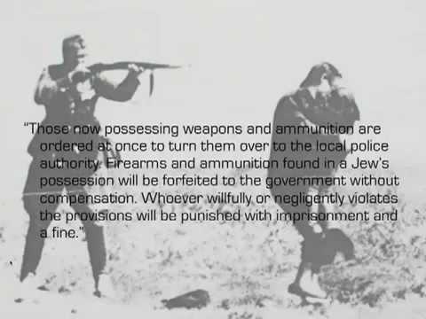 gun control warning