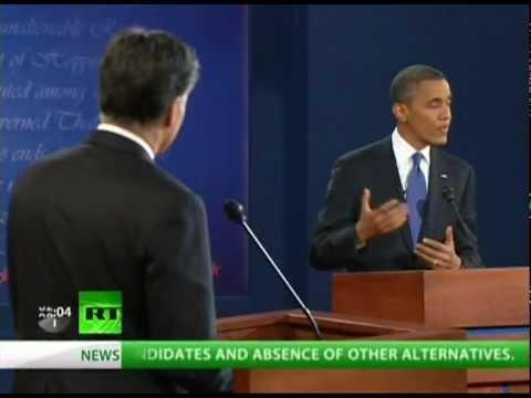 Obama Romney Lovefest