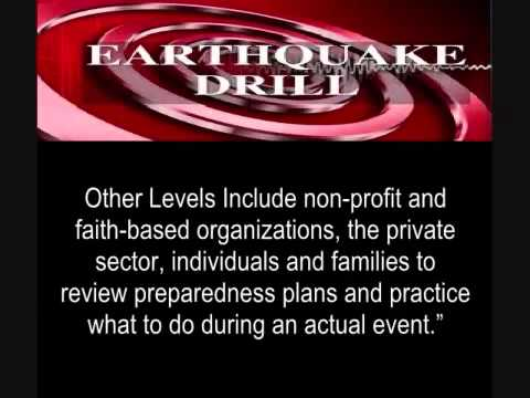 RED  ALERT :Mega States Will Participate In FEMA Earthquake Drill On Oct.18-What is the gov hiding?