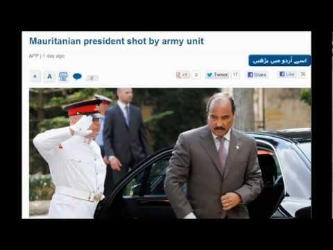 Mauritanian president Accidently shot by army unit? October 15, 2012