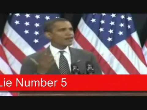 obama 7 Lies In Under 2 Minutes