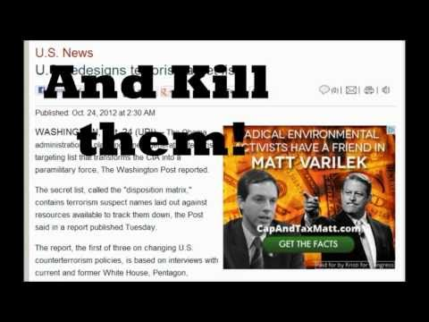 Major CIA Changes : Transforms Into A Paramilitary Force With New Kill List