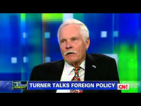 Ted Turner, Piers Morgan Talk New World Order, Billion Dollar Donation To UN Global Police State