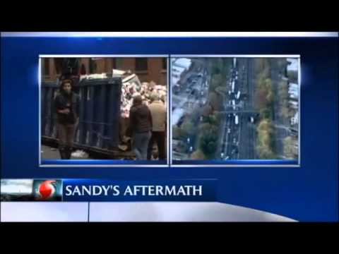 Sandy Aftermath: Starved New Yorkers Dumpster Dive-Eating food from Dumpster 'Heartbreaking Video'