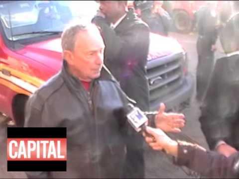 Bloomberg and Rockaway Residents (via @CapitalNewYork)