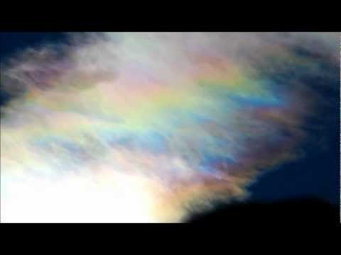 Incredible Sky Hatch/ Webs/ Living Orbs & Super Iridescent Clouds 11-17-2012 CO USA