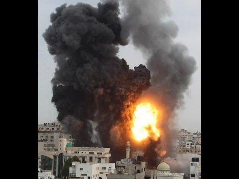 Massive bombing on Gaza (Shocking!!)