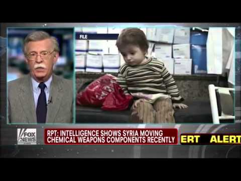 FOXNEWS: Alert Assad Moving Chemical Weapons - UN Pulling out Staff from Syria