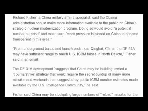 Missile Mania : China conducts mobile ICBM test That can reach North Dakota
