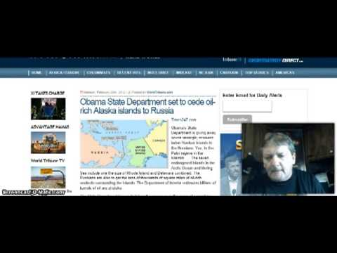 To Russia With Love! Obama Gives Away Oil Rich Alaska Islands To Russia!
