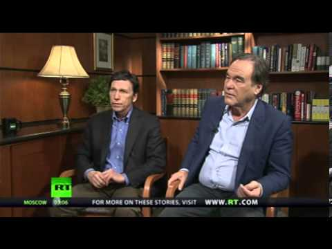 Oliver Stone Interview -USA, The 1984-style Big Brother Orwellian State