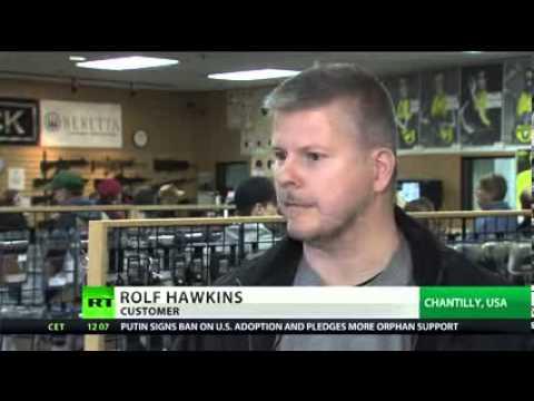 Obama is the greatest gun salesman in American History Record gun sales as ban demand backfires lol