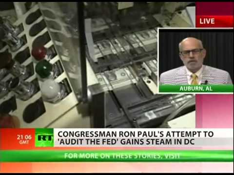 Ron Paul Continues Fight to Audit the Fed - An Interview with Lew Rockwell