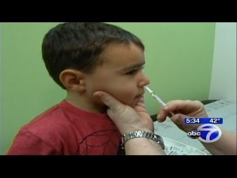 School Forcing 4 year old to take Toxic Flu Shoot ! ... Freest country in the World my @ss