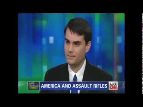 Piers Morgan stands on Shooting Victims' Graves says Breitbarts' Ben Shapiro 1/10/13