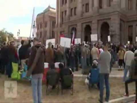 Second Amendment Rally footage.....sheriffs are refusing to enforce fed gun laws.wmv