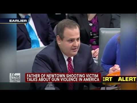 "Emotional Speech from Sandy Hook Victim's Dad: ""The Problem is not Gun Laws"""