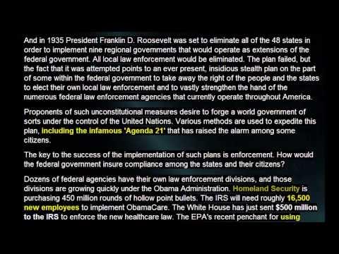 Effort to abolish local sheriffs a stealth federal power grab? 1/29/2013