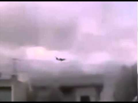 Syria ,Rebels Fire on Aircraft From Iran Arriving at Damascus Airport carrying Iranian Military