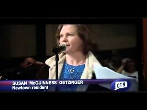 Newtown Mother Exposing Sandy Hook Corruption at Public Hearing