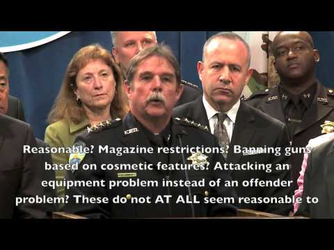 Guns No Defensive Use - Says CA Police Chief Ken James - Police Carry Guns For Offense / Intimidate