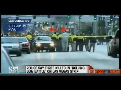 Las Vegas Strip Shooting. 3 Dead After Rolling Gun Battle Along Vegas Strip