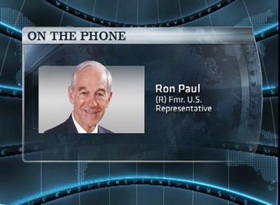 "Dr. Paul's ""Plea for Sanity"" on CNBC"