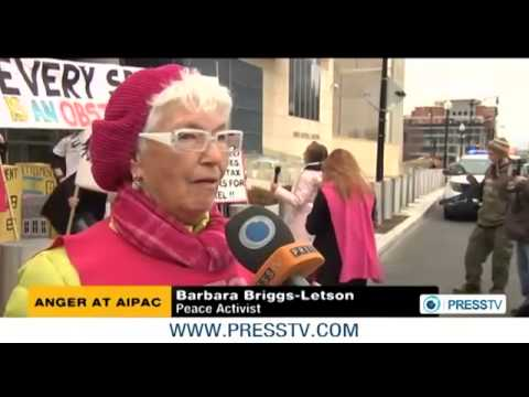 World News 2013 - Upcoming AIPAC conference sparks protests in Washington