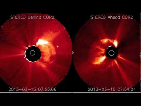 March 15, 2013: Huge Solar Eruption as another one Strikes Earth