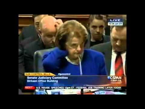 Feinstein's Doomed Gun Bill Squeaks by Senate Judiciary Committee